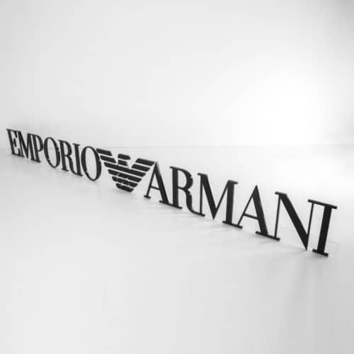 Armani sign