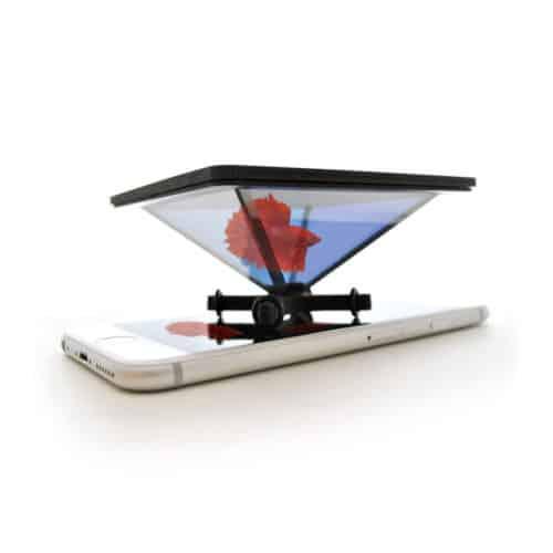 Piramide olografica da smartphone